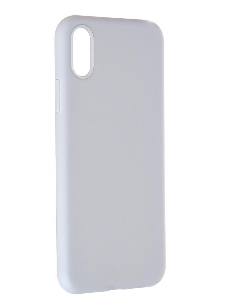 Чехол Pero для APPLE iPhone X Soft Touch Grey CC01-IXGR