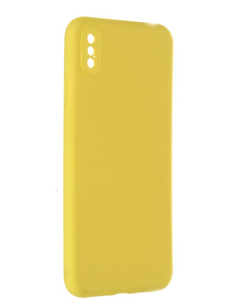 Чехол Pero для APPLE iPhone XS Max Soft Touch Yellow CC01-IXSMY