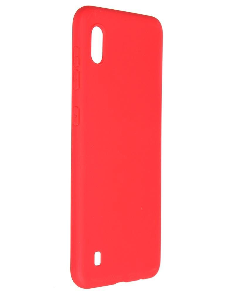 Чехол Pero для Samsung Galaxy M10 / A10 Soft Touch Red СС01-M10R