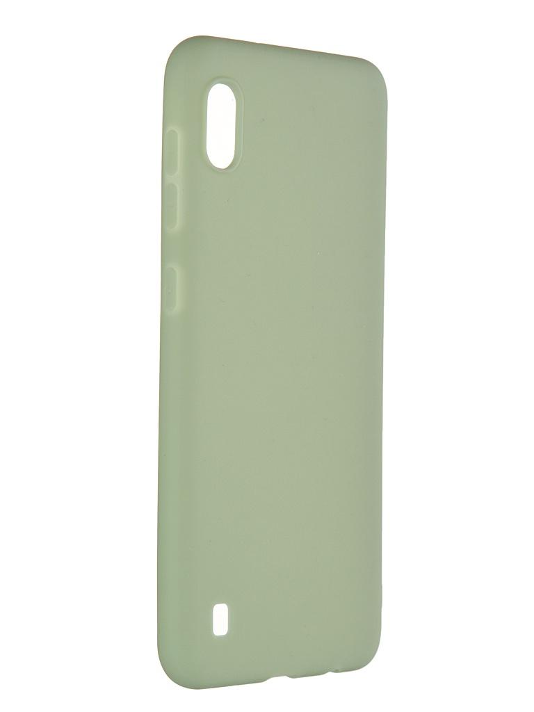 Чехол Pero для Samsung Galaxy M10 / A10 Soft Touch Mint СС01-M10GRN