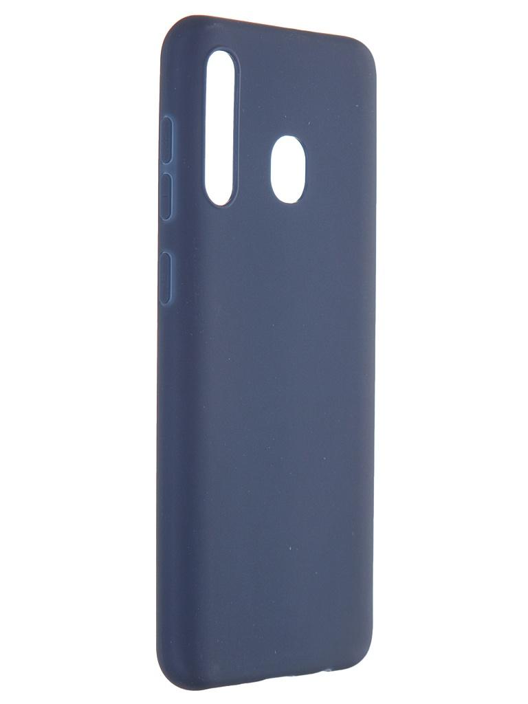 Чехол Pero для Samsung Galaxy M20 / A20 Soft Touch Blue СС01-M20BL