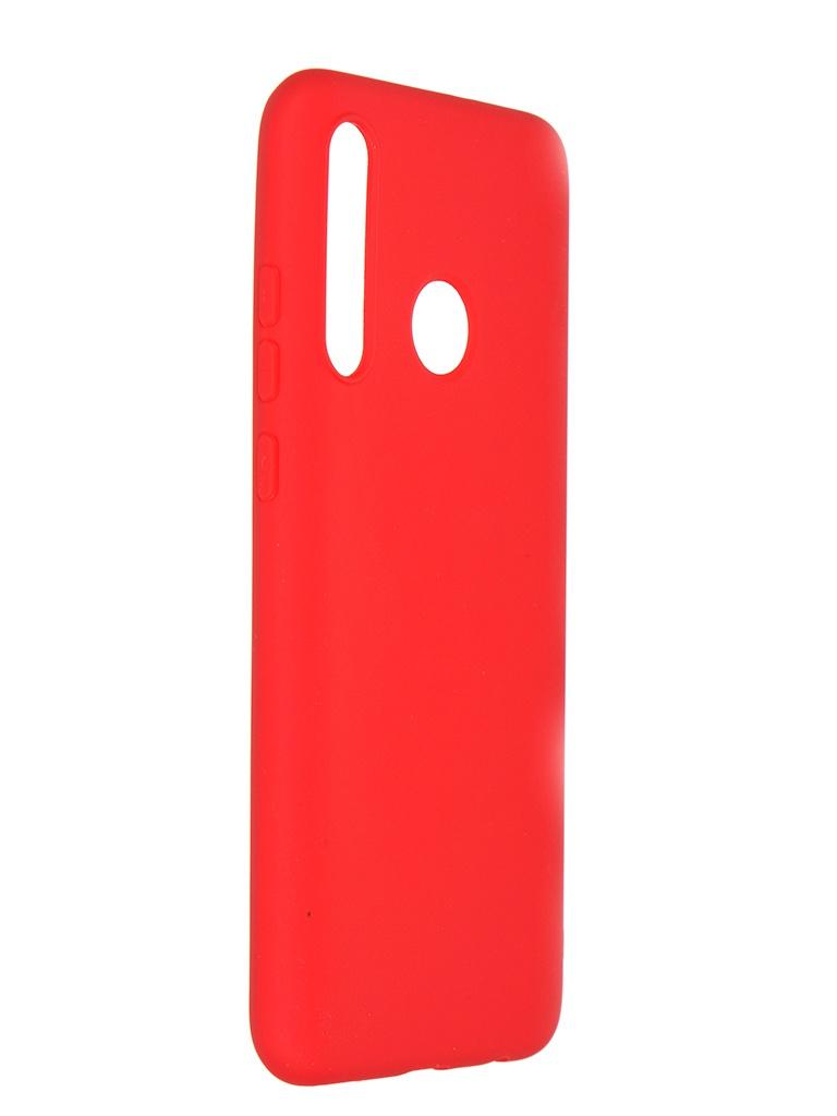 Чехол Pero для Honor 10i Soft Touch Red CC01-H10IR