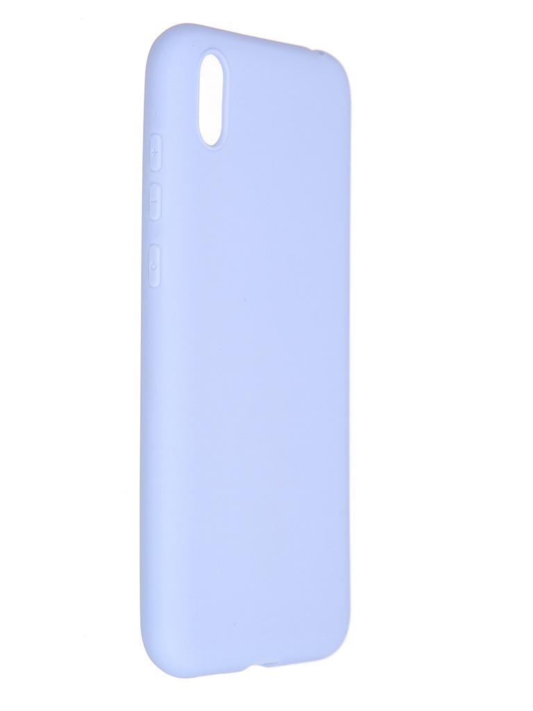 Чехол Pero для Honor 8S Soft Touch Light Blue CC01-H8SOB