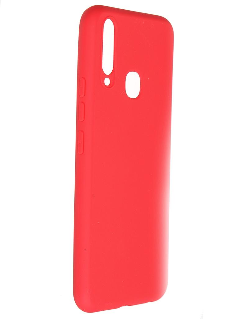 Чехол Pero для Vivo Y11 / Y12 Soft Touch Red CC01-Y11R