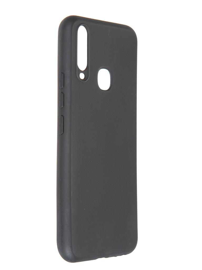 Чехол Pero для Vivo Y11 / Y12 Soft Touch Black CC01-Y11B