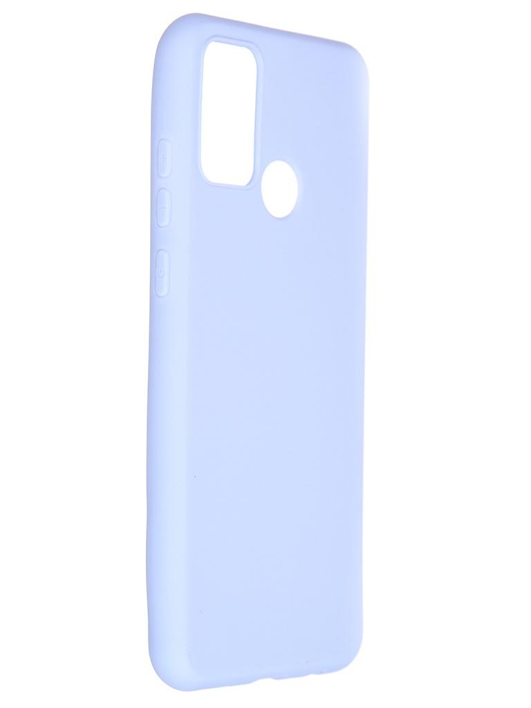 Чехол Pero для Honor 9A Soft Touch Light Blue CC01-H9AOB