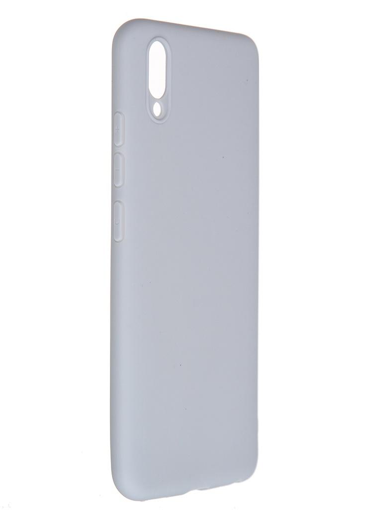 Чехол Pero для Vivo Y93 Soft Touch Grey CC01-Y93GR