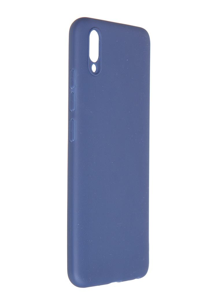 Чехол Pero для Vivo Y93 Soft Touch Blue CC01-Y93BL