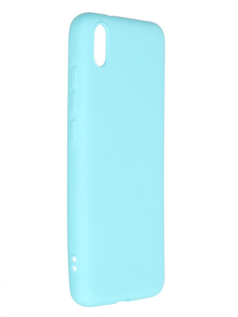Чехол Pero для Xiaomi Redmi 7A Soft Touch Turquoise CC01-R7AC