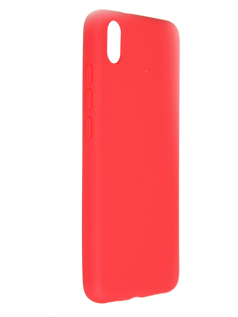 Чехол Pero для Xiaomi Redmi 7A Soft Touch Red CC01-R7AR