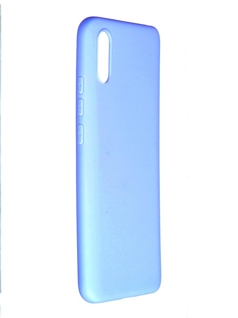 Чехол Pero для Xiaomi Redmi 9A Soft Touch Light Blue CC01-R9AOB чехол pero для xiaomi redmi note 8 pro soft touch blue cc01 rn8pbl