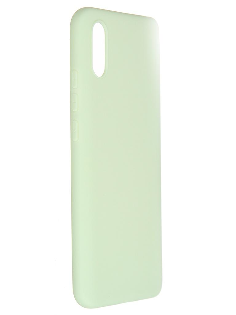 Чехол Pero для Xiaomi Redmi 9A Soft Touch Mint CC01-R9AGRN