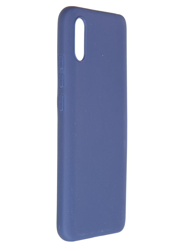 Чехол Pero для Xiaomi Redmi 9A Soft Touch Blue CC01-R9ABL чехол pero для xiaomi redmi note 8 pro soft touch blue cc01 rn8pbl