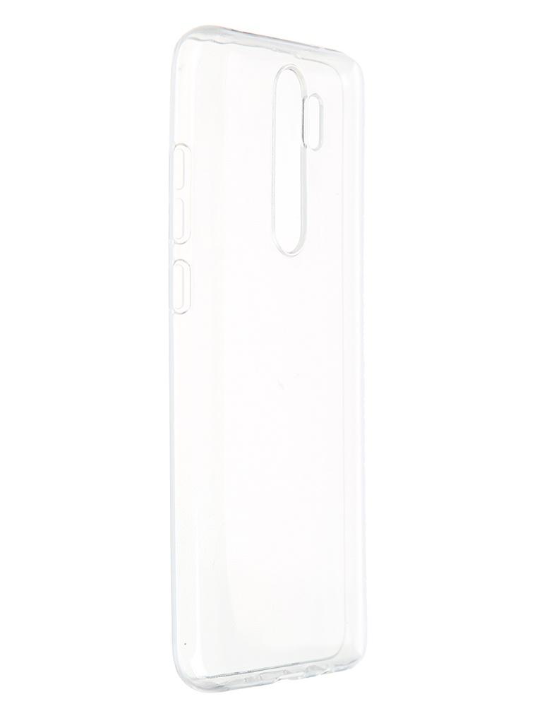 Чехол Pero для Xiaomi Redmi Note 8 Pro Silicone Transparent CC01-RN8PRTR чехол pero для xiaomi redmi note 8 pro soft touch blue cc01 rn8pbl