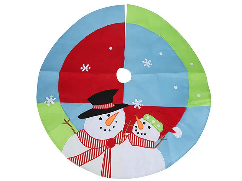 Юбка для декорирования ёлки Kaemingk Новогодние мотивы Снеговички 100cm AAF202240 / 173184
