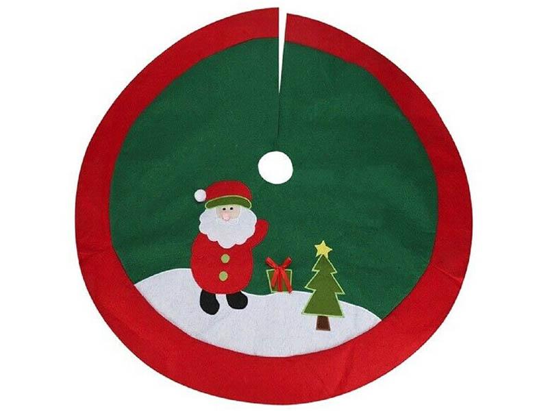 Юбка для декорирования ёлки Kaemingk Новогодние мотивы Санта 100cm AAF202240 / 159969
