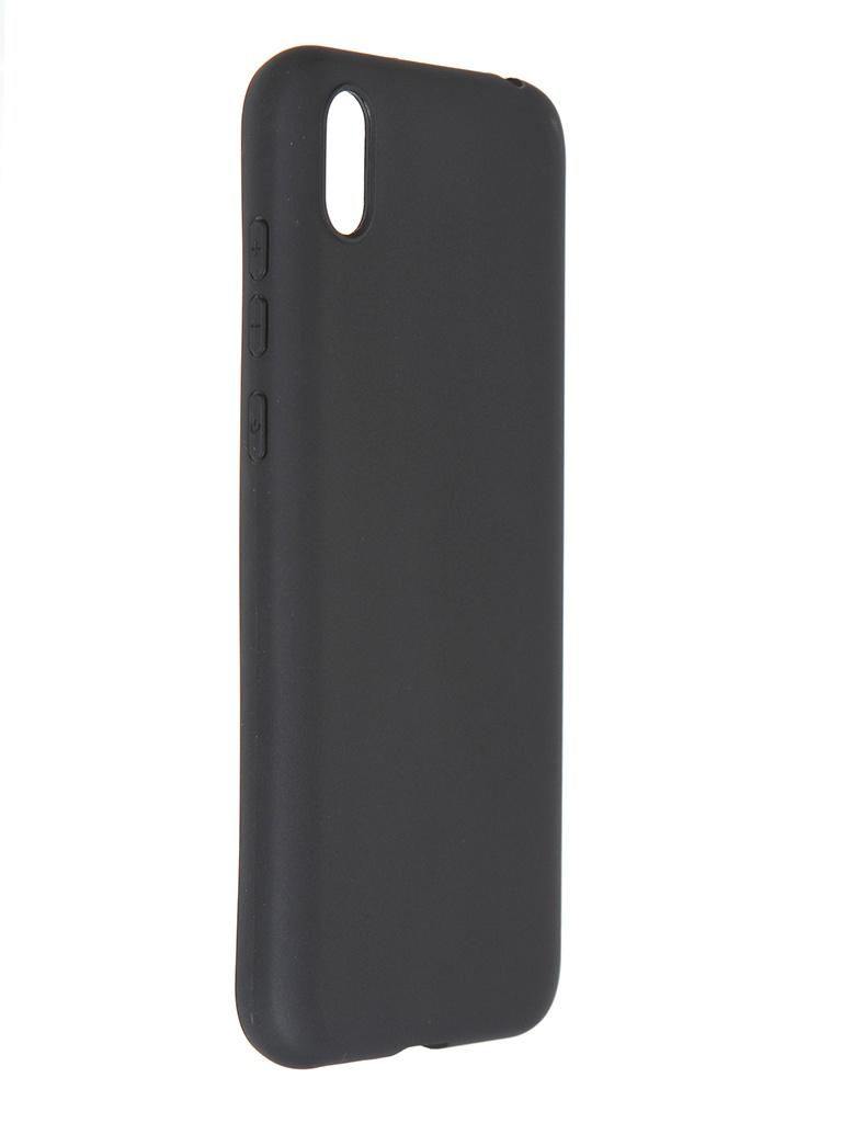 Чехол Pero для Huawei Y5 2019 Soft Touch Black CC01-Y519B