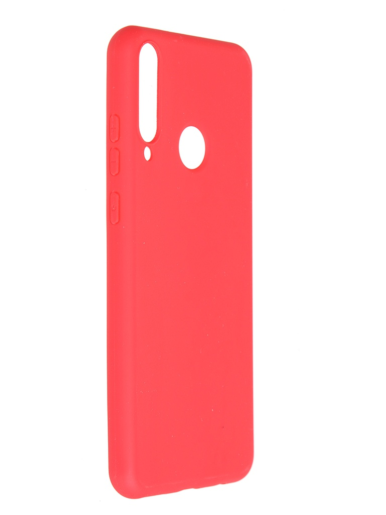 Чехол Pero для Huawei Y6p Soft Touch Red CC01-Y6PR