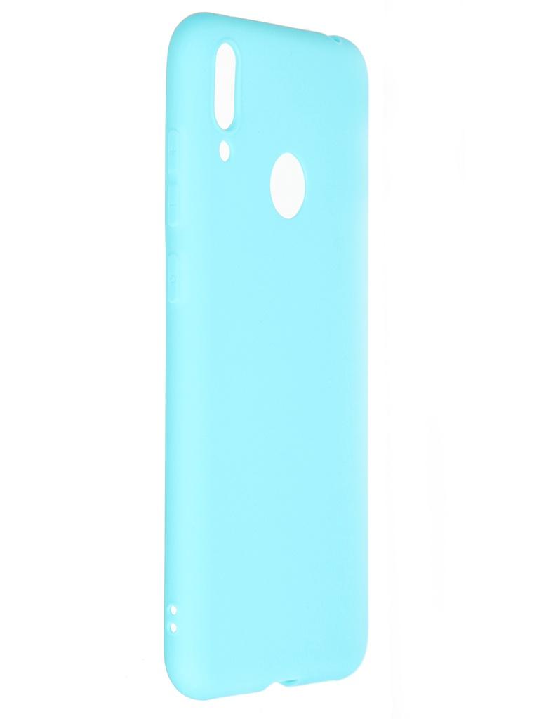 Чехол Pero для Huawei Y7 2019 Soft Touch Turquoise CC01-Y719C