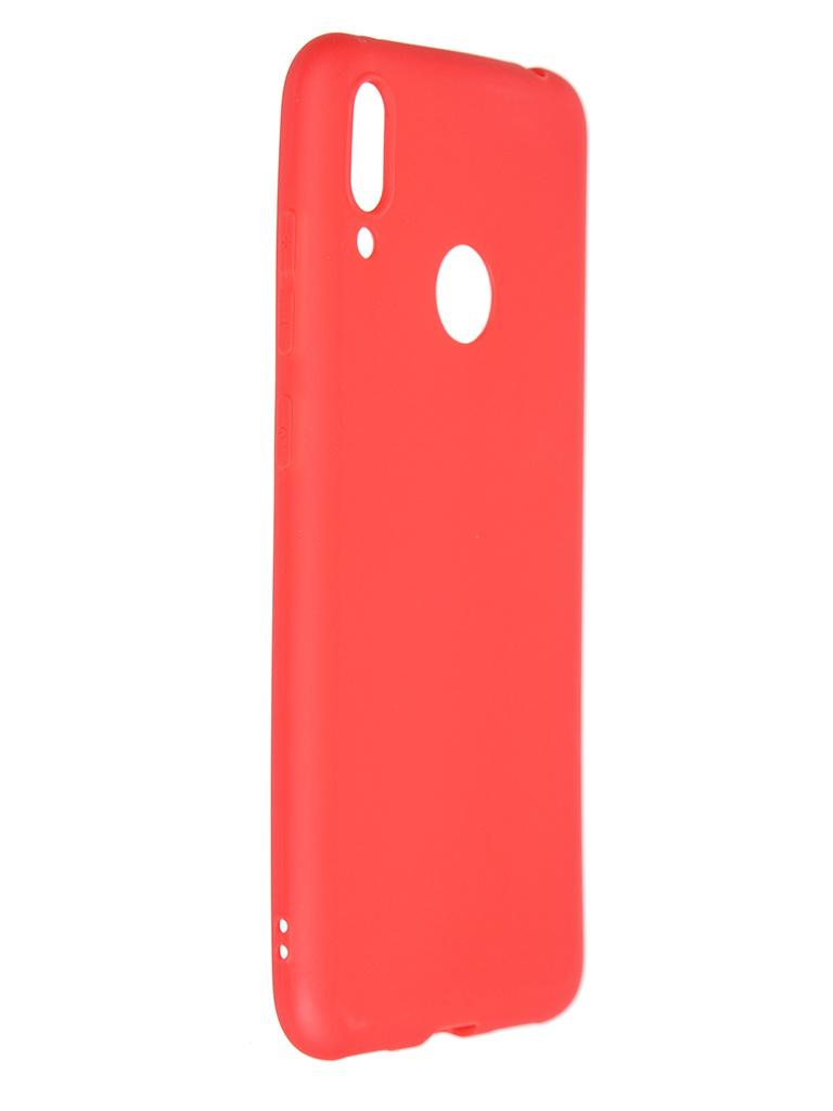 Чехол Pero для Huawei Y7 2019 Soft Touch Red CC01-Y719R