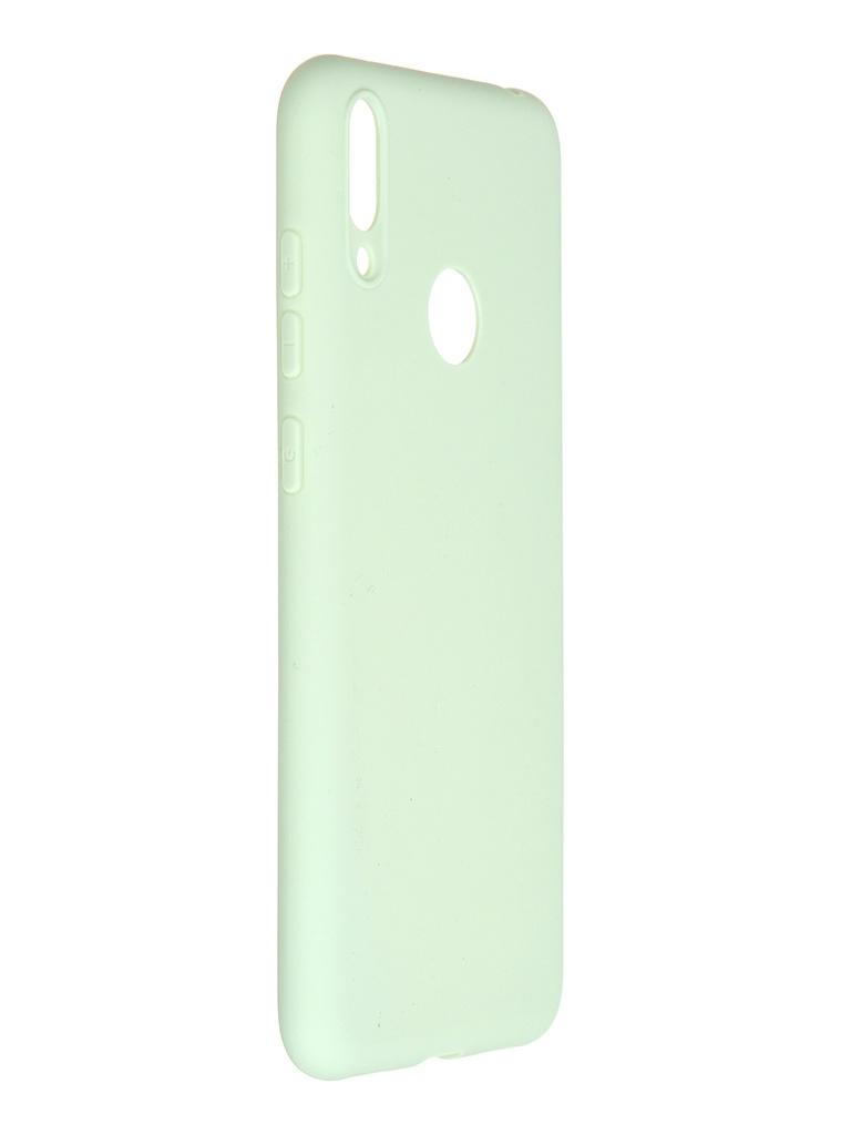 Чехол Pero для Huawei Y7 2019 Soft Touch Mint CC01-Y719GRN