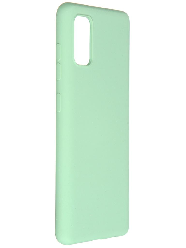 Чехол Pero для Samsung Galaxy A41 Liquid Silicone Green PCLS-0008-GN