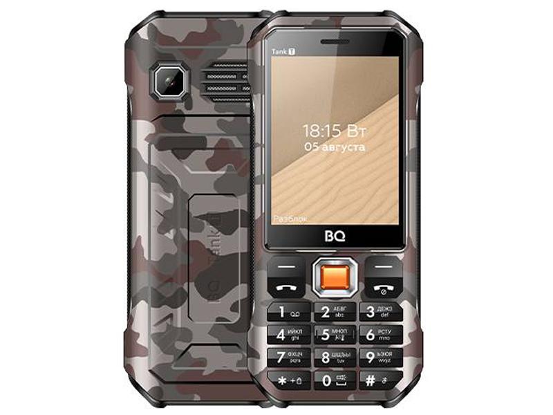 Сотовый телефон BQ 2824 Tank T Camouflage Grey
