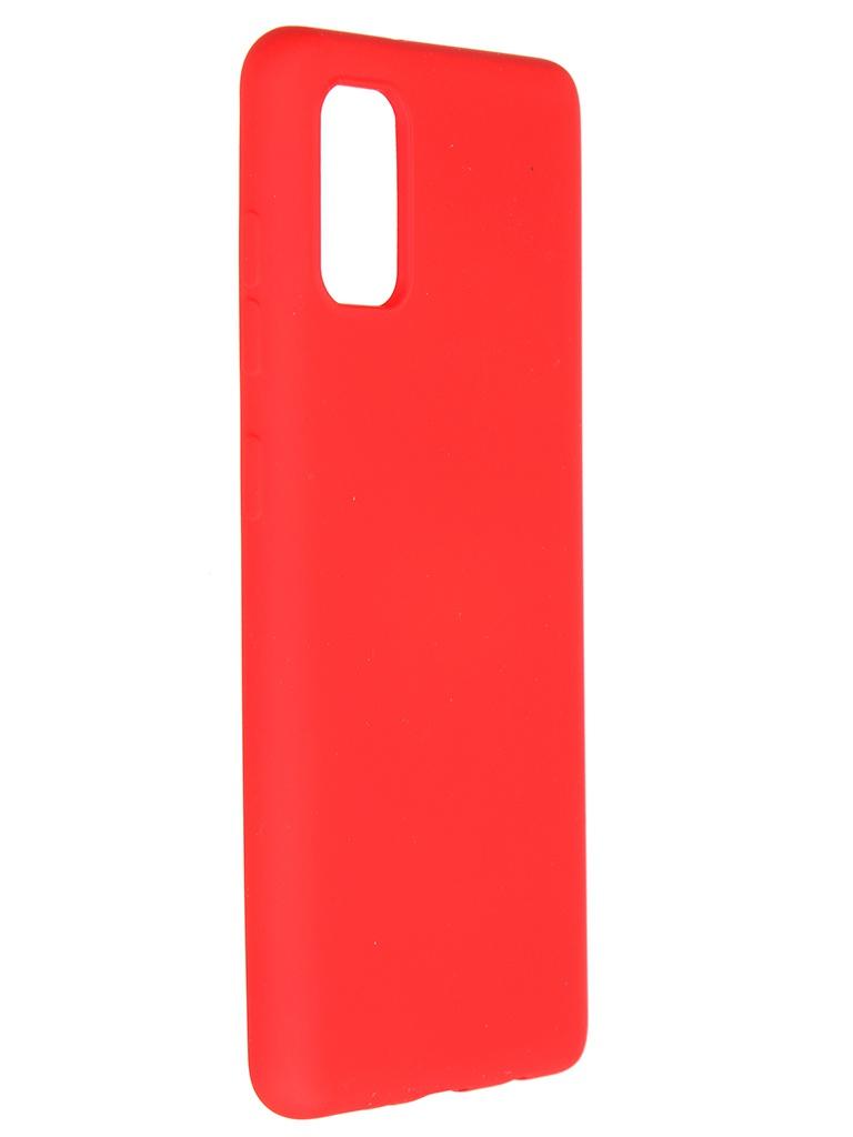 Чехол Pero для Samsung Galaxy A41 Liquid Silicone Red PCLS-0008-RD