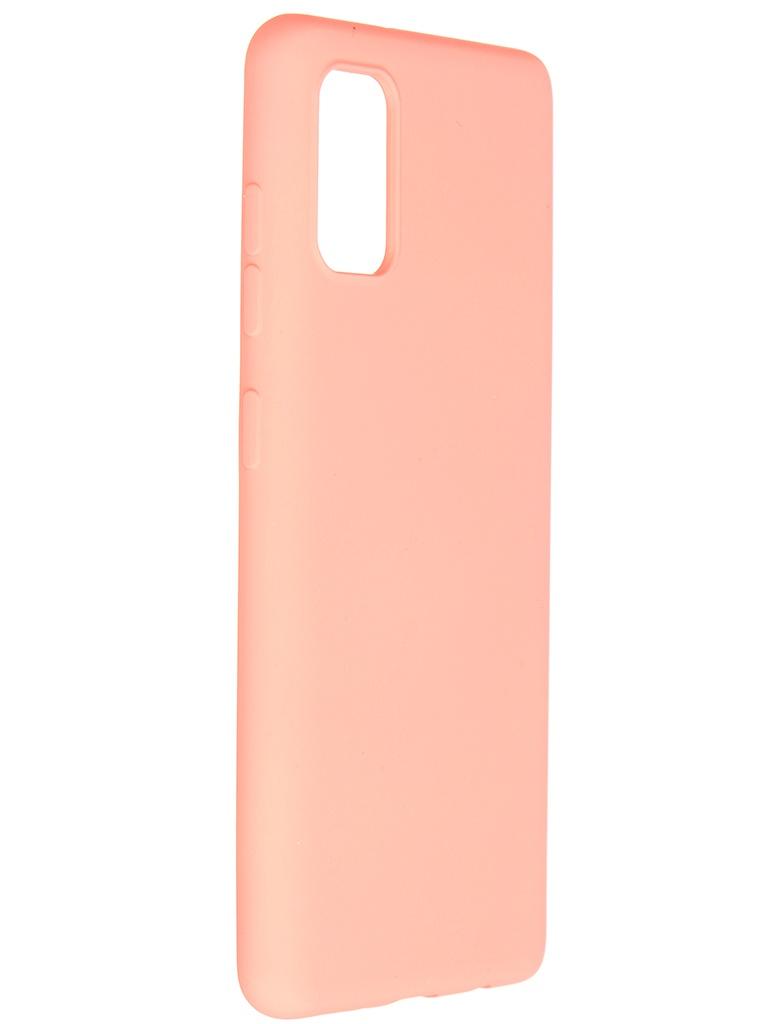 Чехол Pero для Samsung Galaxy A41 Liquid Silicone Orange PCLS-0008-OR