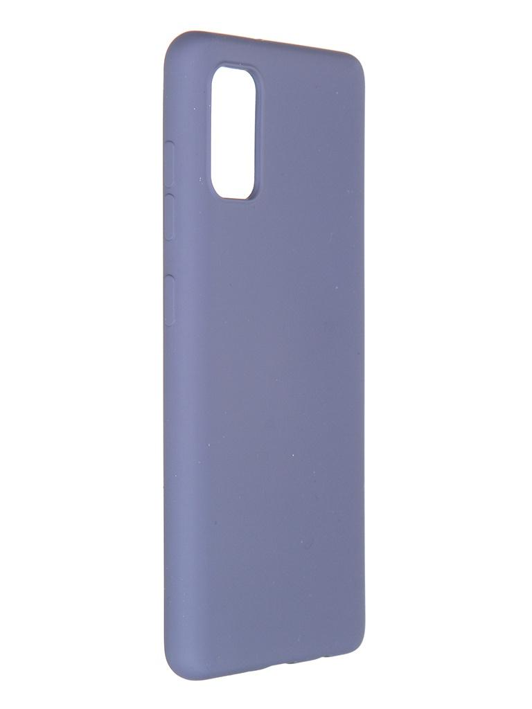 Чехол Pero для Samsung Galaxy A41 Liquid Silicone Grey PCLS-0008-GR