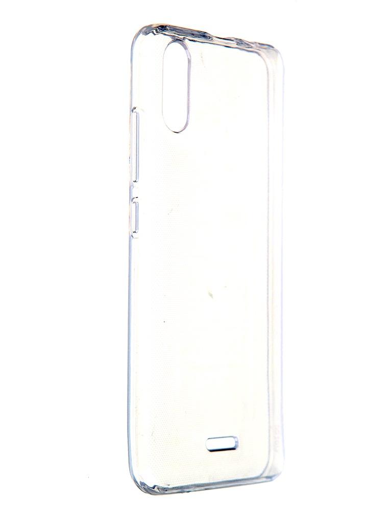 Чехол для BQ BQ-5518G / BQ-5519G Jeans Silicone Transparent