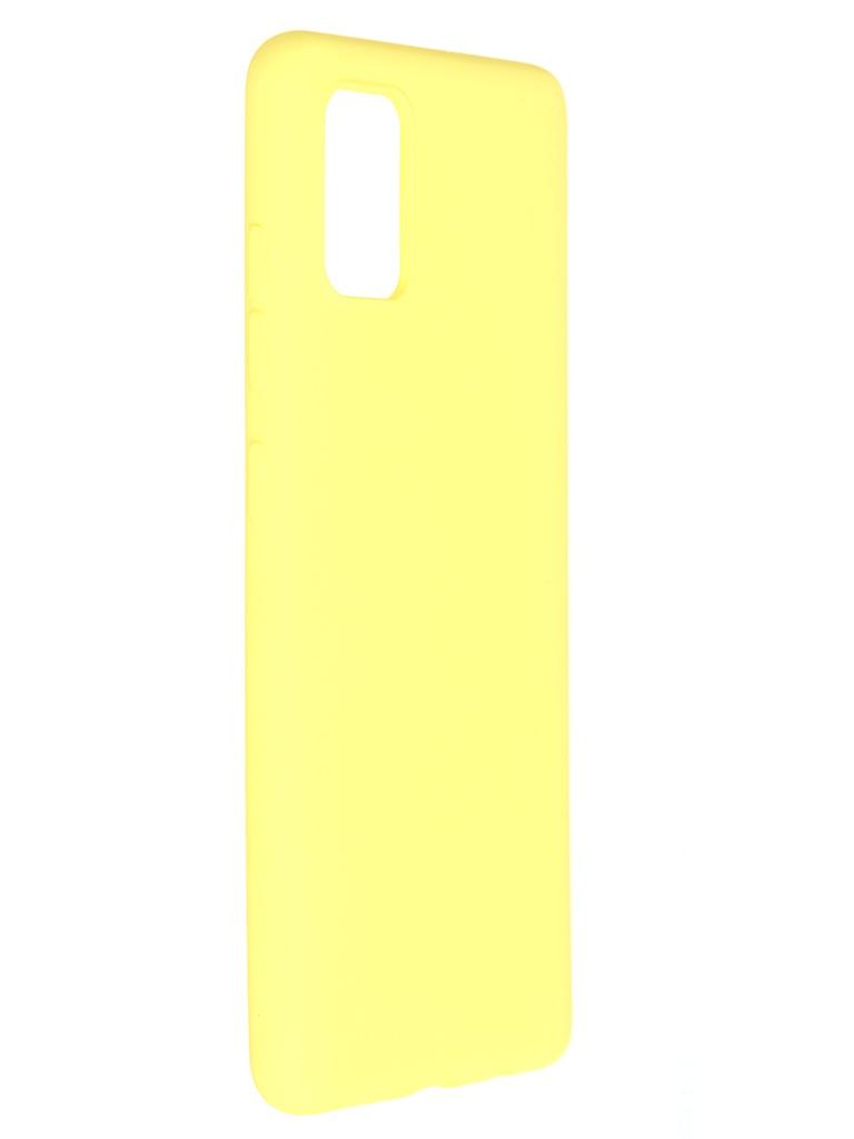 Чехол Pero для Samsung Galaxy A51 Liquid Silicone Yellow PCLS-0013-YW