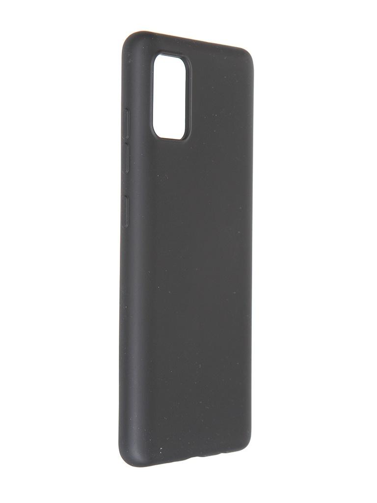 Чехол Pero для Samsung Galaxy A51 Liquid Silicone Black PCLS-0013-BK