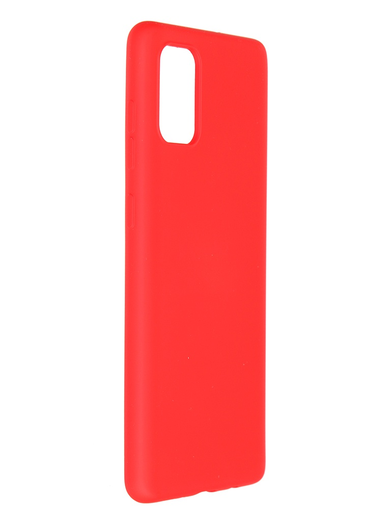 Чехол Pero для Samsung Galaxy A71 Liquid Silicone Red PCLS-0015-RD