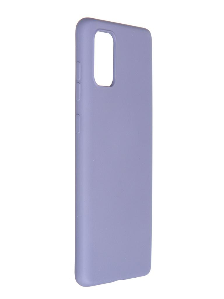 Чехол Pero для Samsung Galaxy A71 Liquid Silicone Grey PCLS-0015-GR