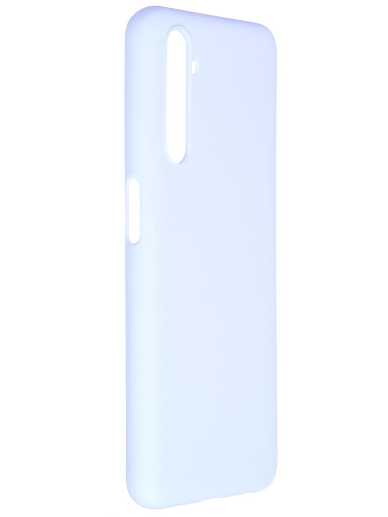 Чехол Pero для Realme 6S Soft Touch Light Blue CC01-R6SOB