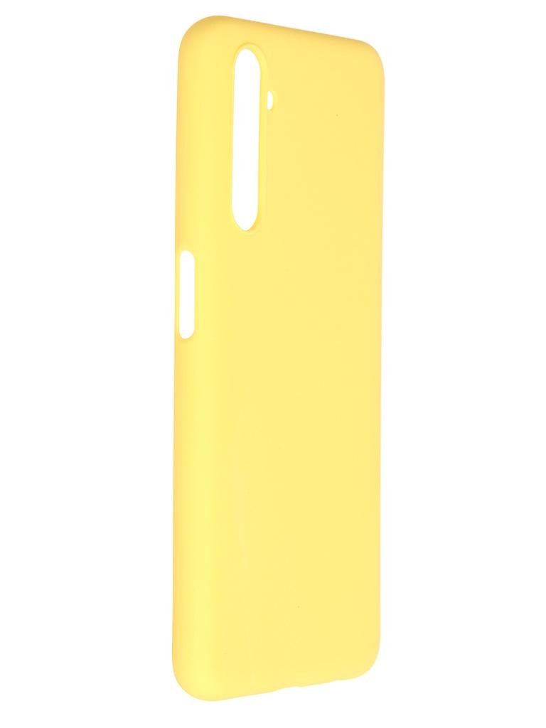 Чехол Pero для Realme 6S Soft Touch Yellow CC01-R6SY