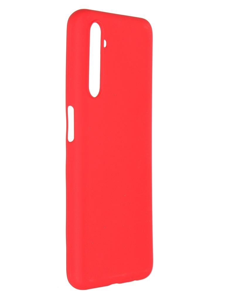 Чехол Pero для Realme 6S Soft Touch Red CC01-R6SR