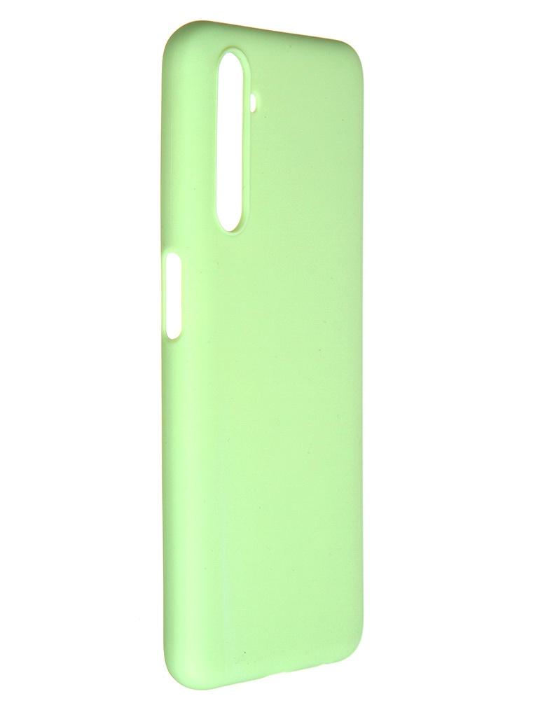 Чехол Pero для Realme 6S Soft Touch Mint CC01-R6SGRN