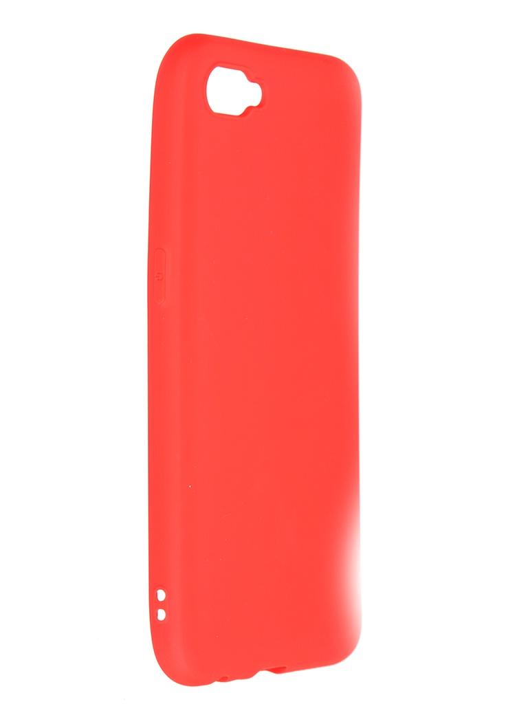 Чехол Pero для Realme C2 Soft Touch Red CC01-RC2R