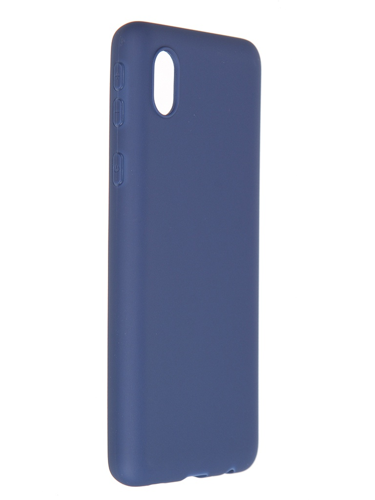 Чехол Pero для Samsung Galaxy A01 Core Soft Touch Blue CC01-A01CBL