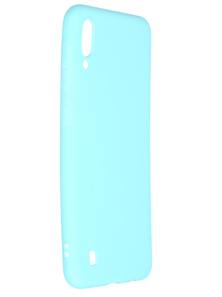 Чехол Pero для Samsung Galaxy A10 Soft Touch Turquoise CC01-A10C