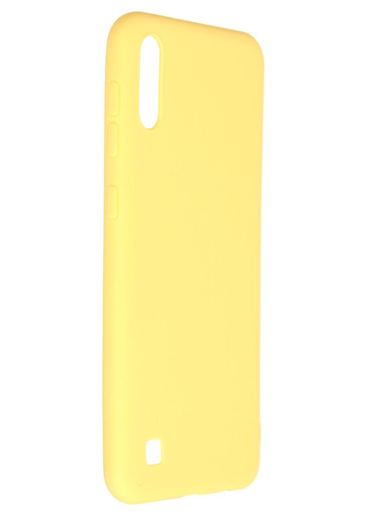 Чехол Pero для Samsung Galaxy A10 Soft Touch Yellow CC01-A10Y