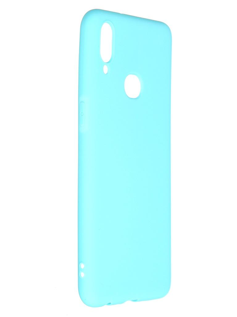 Чехол Pero для Samsung Galaxy A10S Soft Touch Turquoise CC01-A10SC