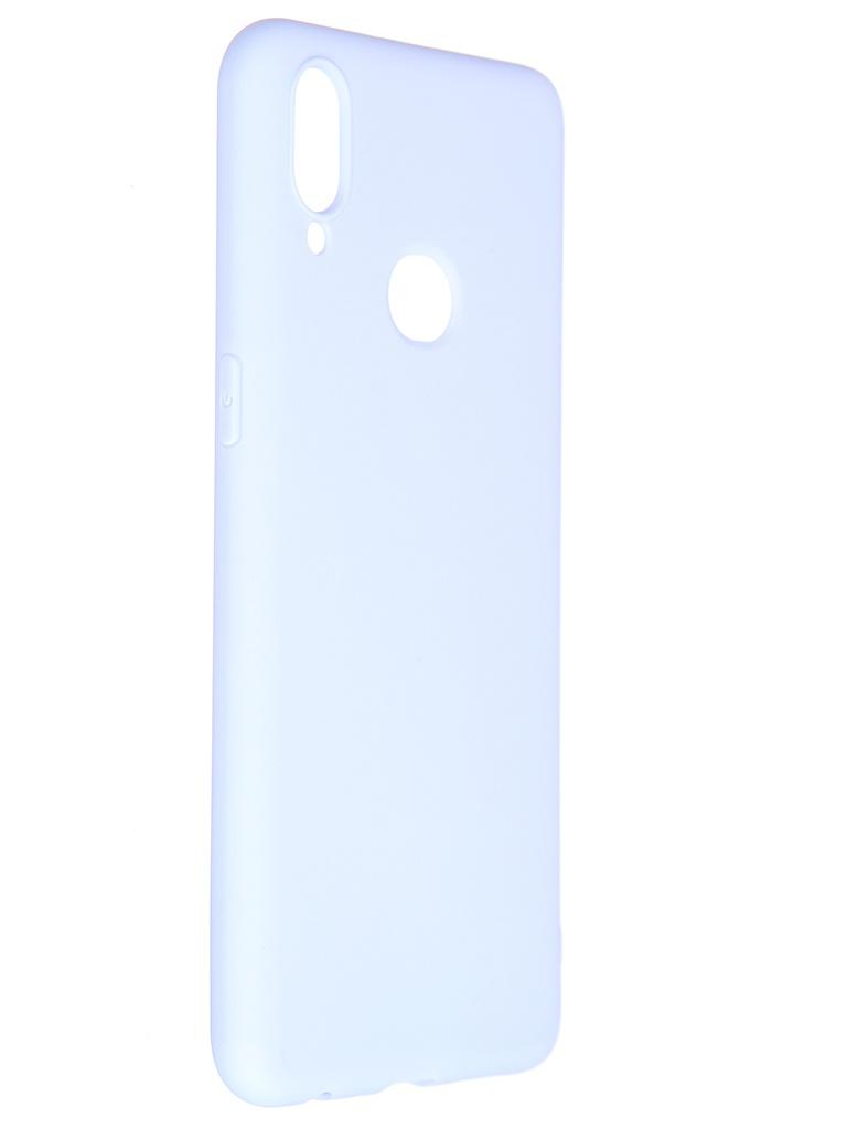 Чехол Pero для Samsung Galaxy A10S Soft Touch Light Blue CC01-A10SOB