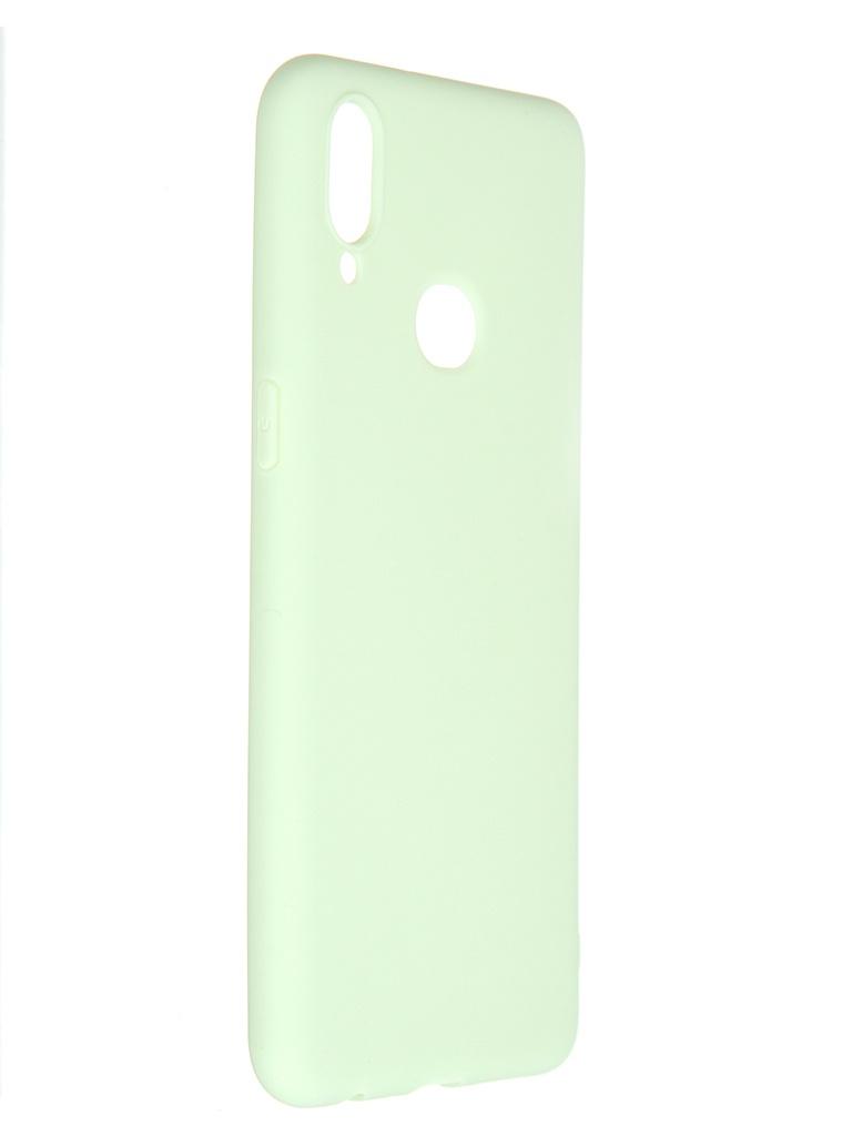 Чехол Pero для Samsung Galaxy A10S Soft Touch Mint CC01-A10SGRN
