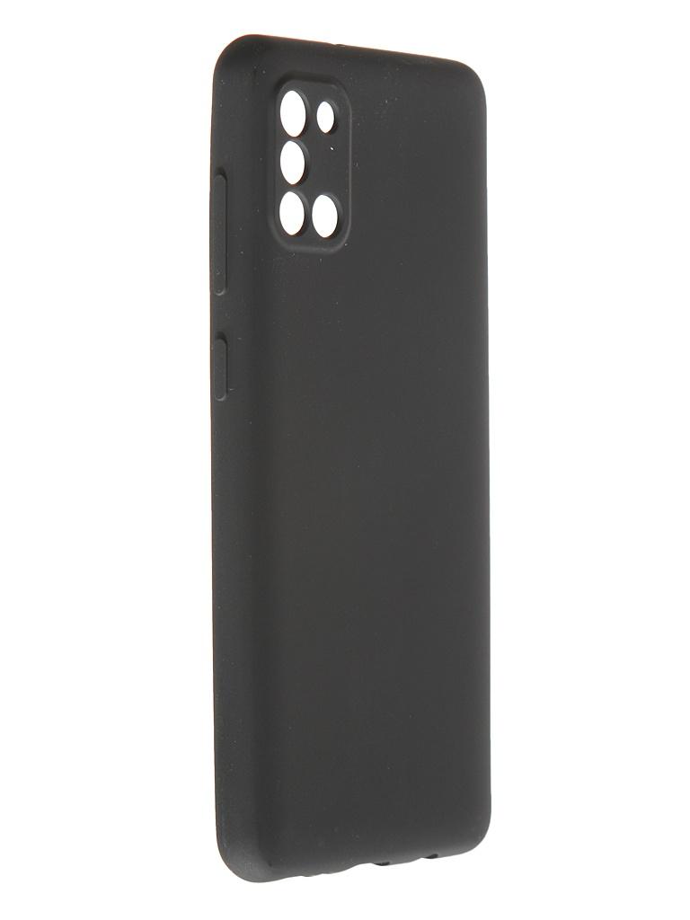 Чехол Pero для Samsung Galaxy A31 Soft Touch Black CC01-A31B
