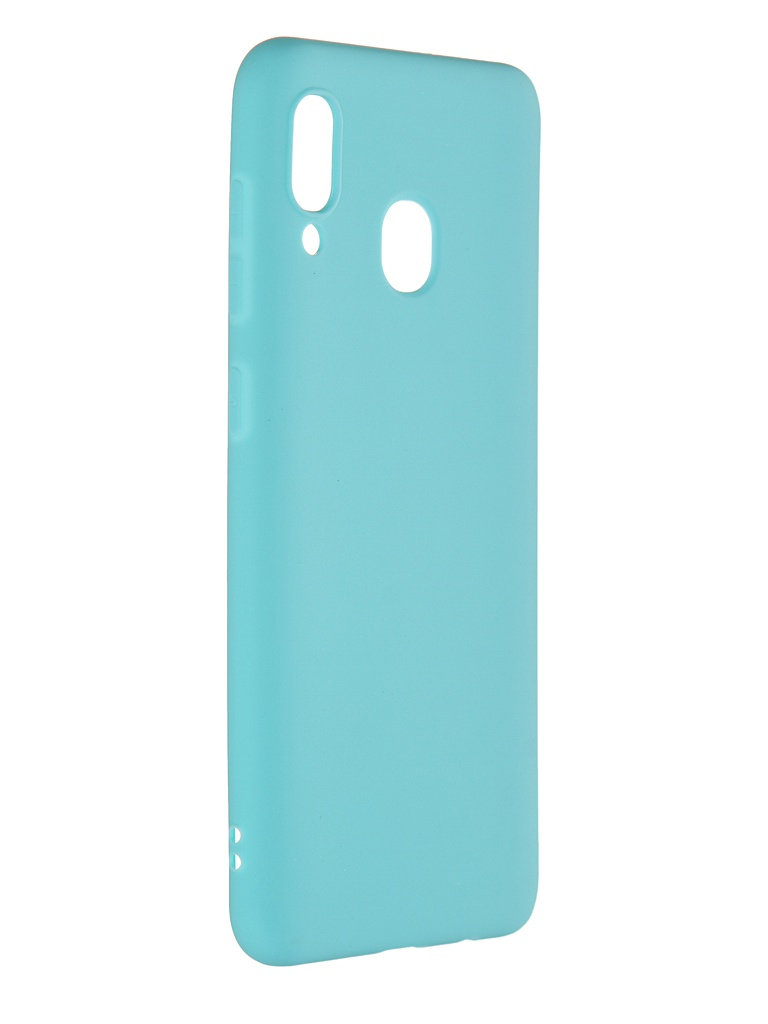 Чехол Pero для Samsung Galaxy A30 Soft Touch Turquoise CC01-A30C