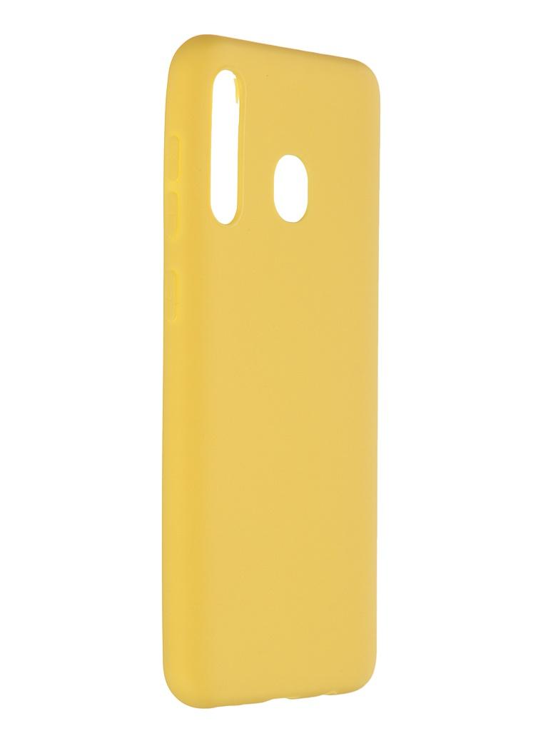 Чехол Pero для Samsung Galaxy A30 Soft Touch Yellow CC01-A30Y