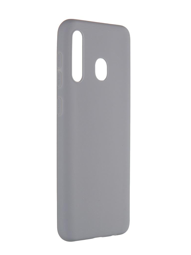 Чехол Pero для Samsung Galaxy A30 Soft Touch Grey CC01-A30GR